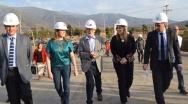 De visita en Olmué ministro de Obras Públicas anunció estudios de nueva ruta que conectaría la Ruta 68 con La Dormida y Ruta 5.