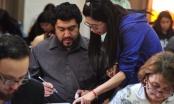 Estudiantes de chino rinden importante examen de certificación en 13 ciudades del país.