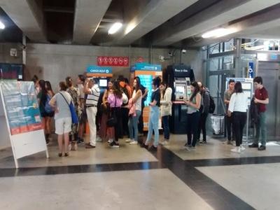 Jóvenes pueden vacunarse gratuitamente en estación Viña Del Mar,de Metro Valparaíso.