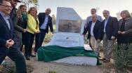 Diputado Longton destaca la sencillez y entrega de su padre durante ceremonia en la que estadio quilpueíno recibió oficialmente su nombre.